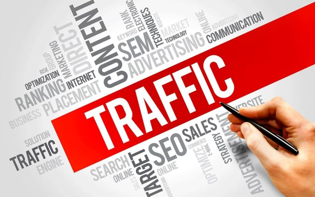 infographie du traffic web