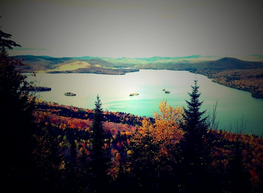 Quebec lac en automne