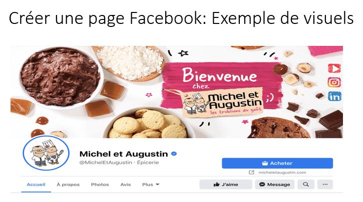 Créer Une Page Facebook Exemple De Visuels
