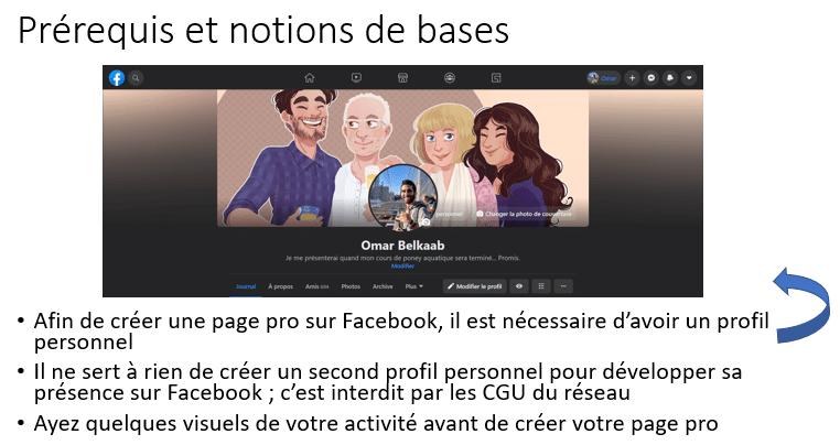 Facebook Prérequis Et Notions De Base