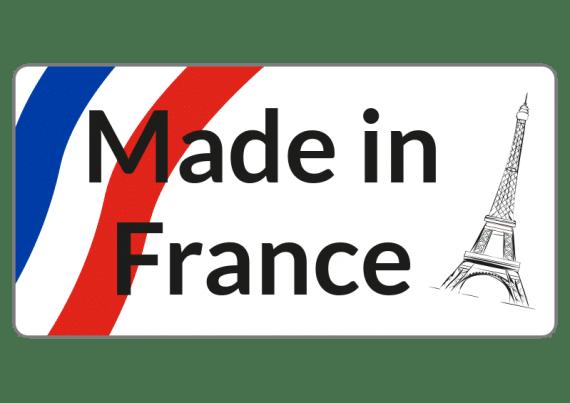 Etiquette Made In France Avec Tour Eiffel