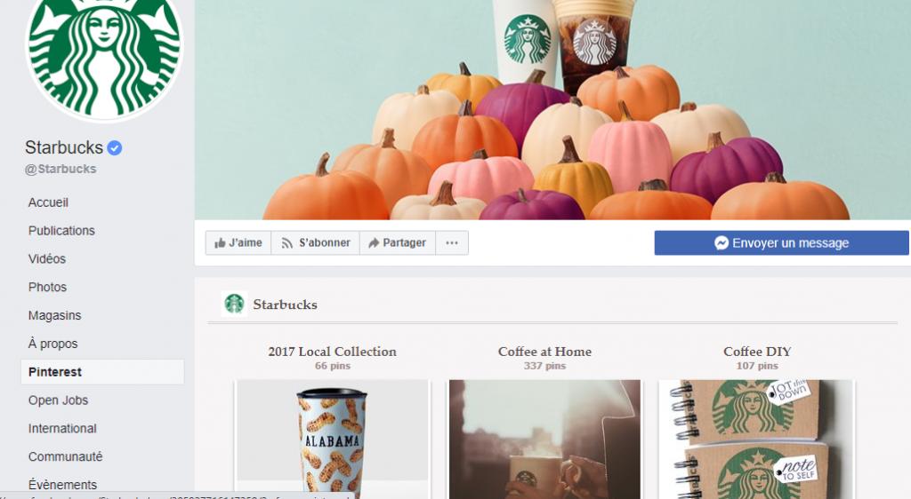 Pinterest Woobox Starbuck