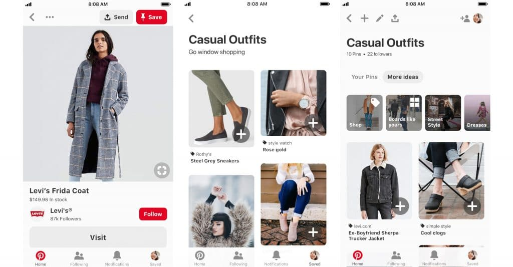 Pinterest Shopping Catalogue
